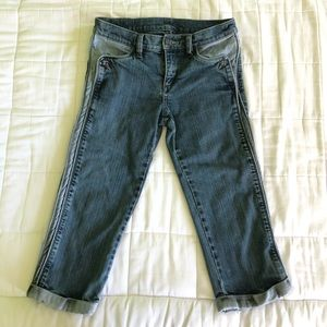 BCBG MaxAzria cropped jeans